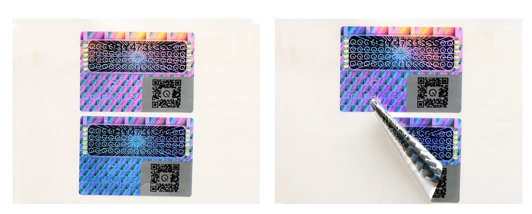 hologram label
