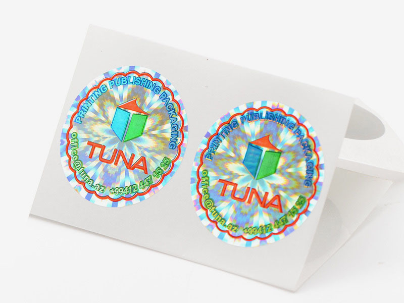 Colorful Printed Custom Made Hologram Stickers