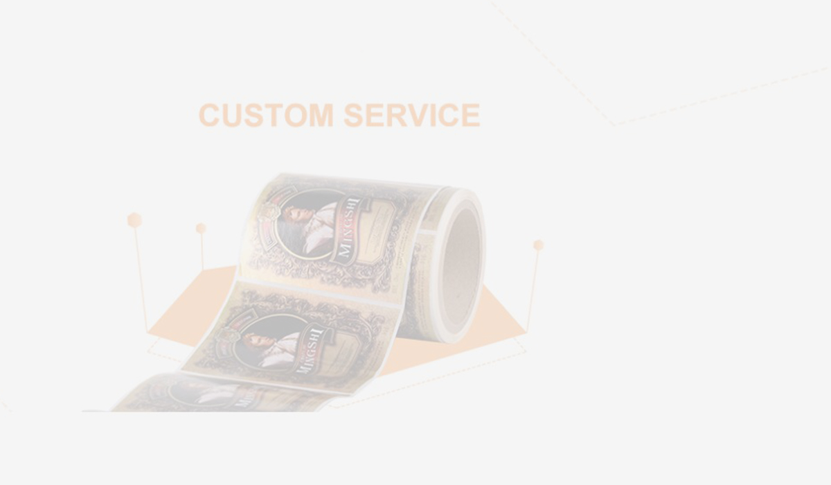 Wholesale security hologram sticker LG Printing Brand