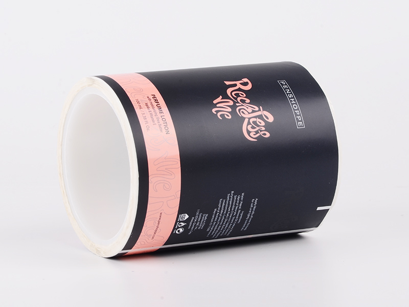 LG Printing foil label manufacturers series for bottle
