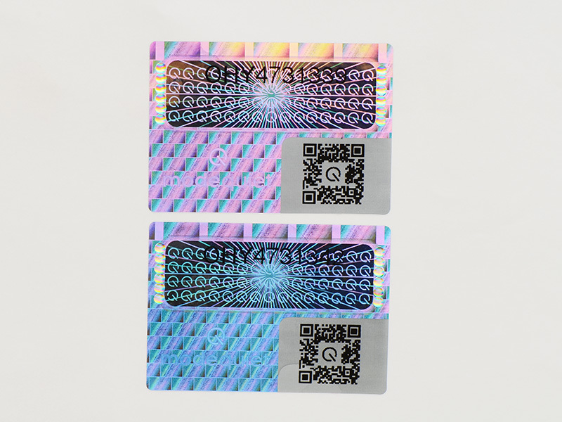 3d hologram sticker label holographic LG Printing Brand company