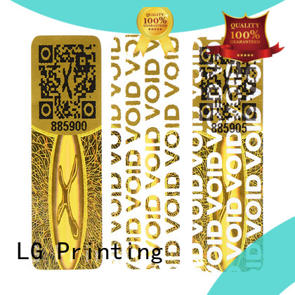 numbering holographic foil stickers supplier for refrigerator LG Printing