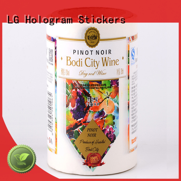 LG Printing pvc wholesale packaging supplies factory for jars