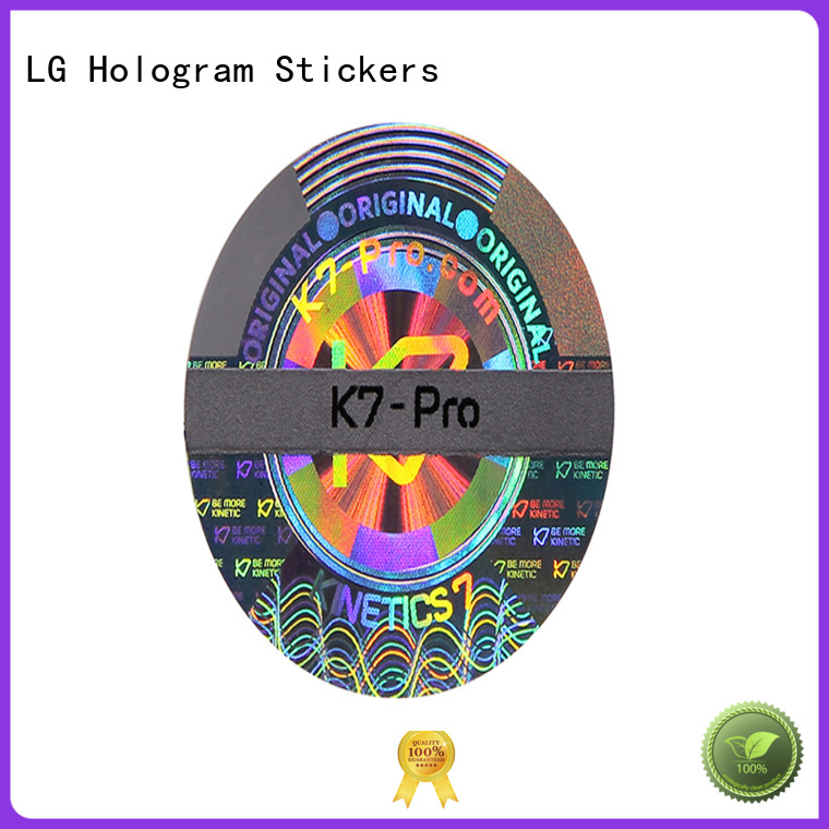 LG Printing color adhesive label sticker series for table