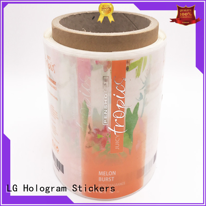 quality custom product labels pvc series for bottle