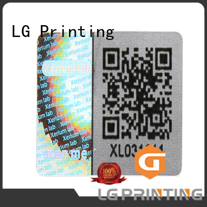 LG Printing void void seal series for table