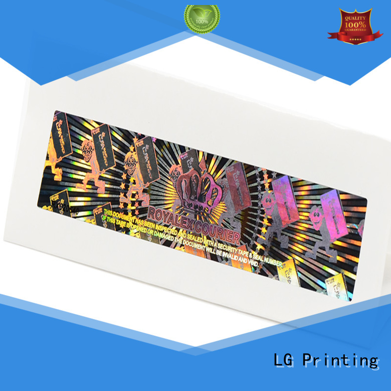 void supreme holographic sticker one time manufacturer for table