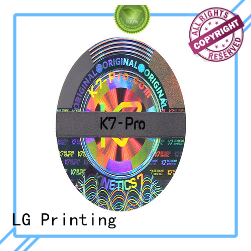 various laser hologram authentic label for refrigerator