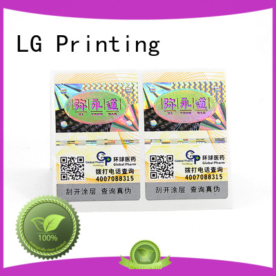 LG Printing Custom sticky labels for jars company for products