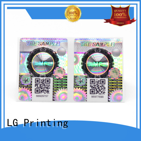 LG Printing Best vinyl self adhesive labels Suppliers for products
