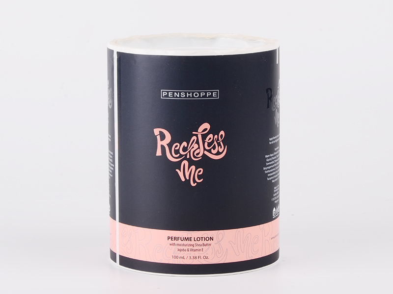 High quality sticker label roll for wine bottle