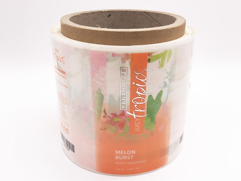 Paper Adhesive Sticker Custom Labels For Jar