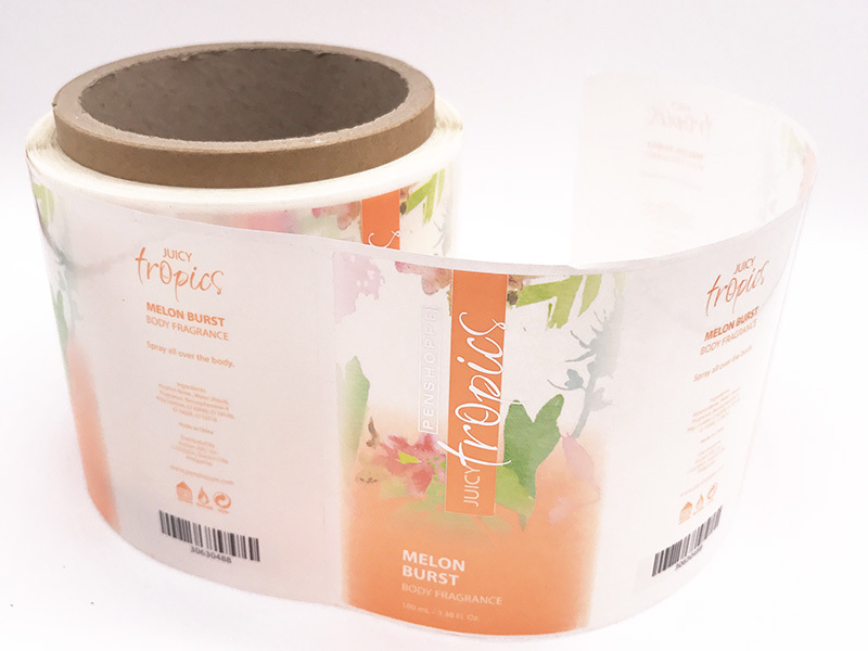 Paper Adhesive Sticker Custom Labels For Jar