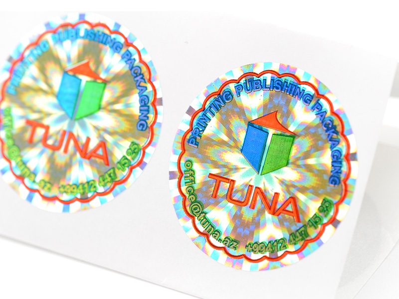 authentic authentic hologram stickers numbering manufacturer for table-1