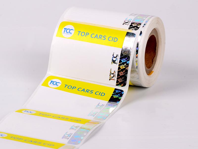 Security Sticker Printing Stamping Hologram Label