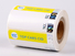 number custom security labels PP for goods LG Printing