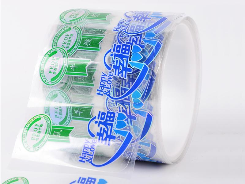 Custom Product Labels Logo Transparent Sticker For Bottle Jar