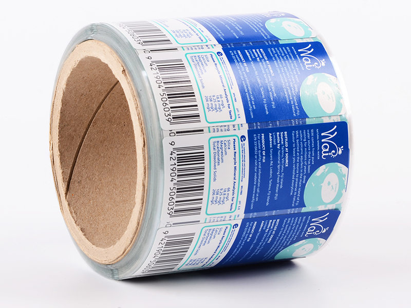PVC Sticker Self-Adhesive Sticker For Bottle Water Labels