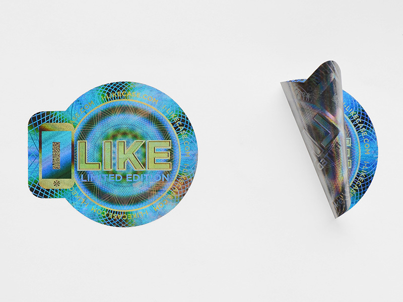 3D Hologram Printing Void Sticker