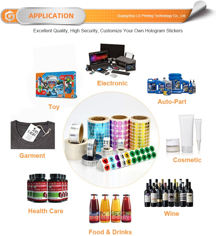 LG Printing Customized hologram sticker printer supply for pharmaceuticals-6