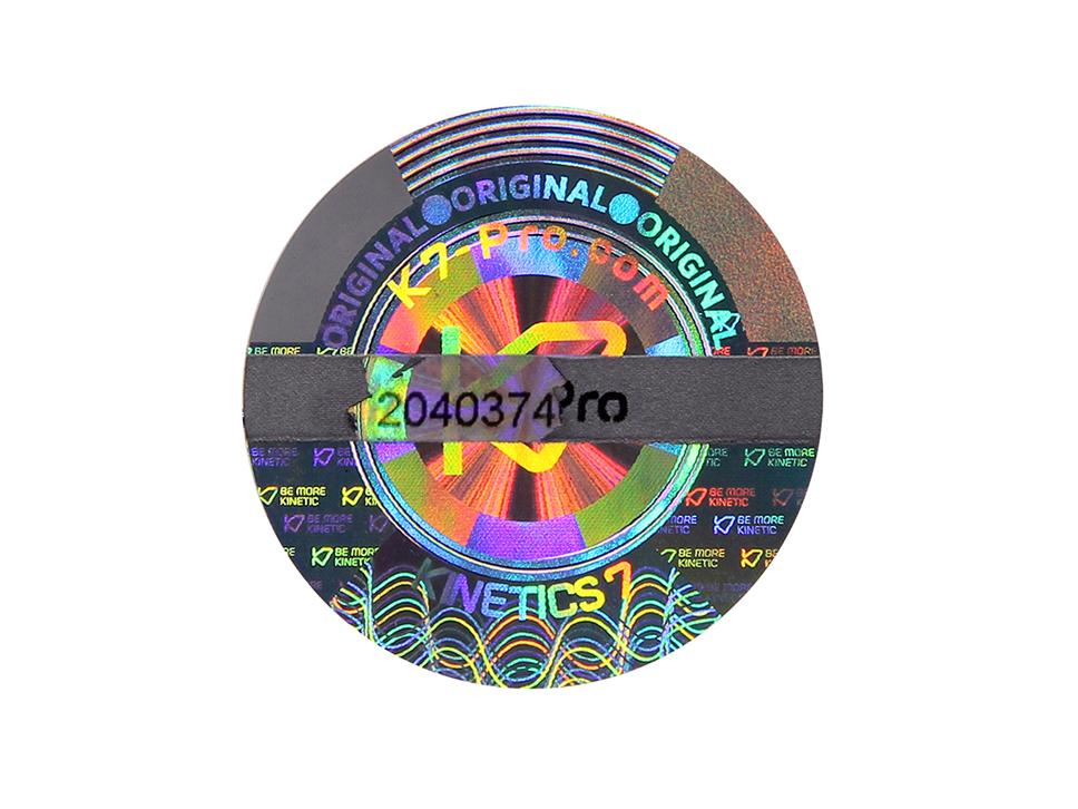 High Quality 3D Scratch Off Hologram Sticker Hologram