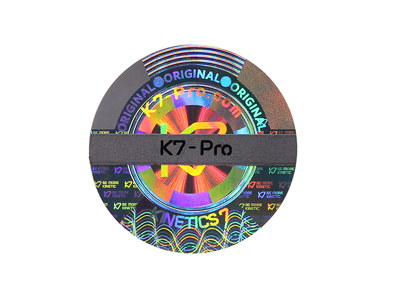 High Quality 3D Scratch Off Hologram Sticker Hologram