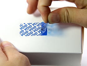 Tamper evident labels,Void Stickers,Security Labels