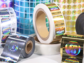 Hologram Sticker Custom Label Printing