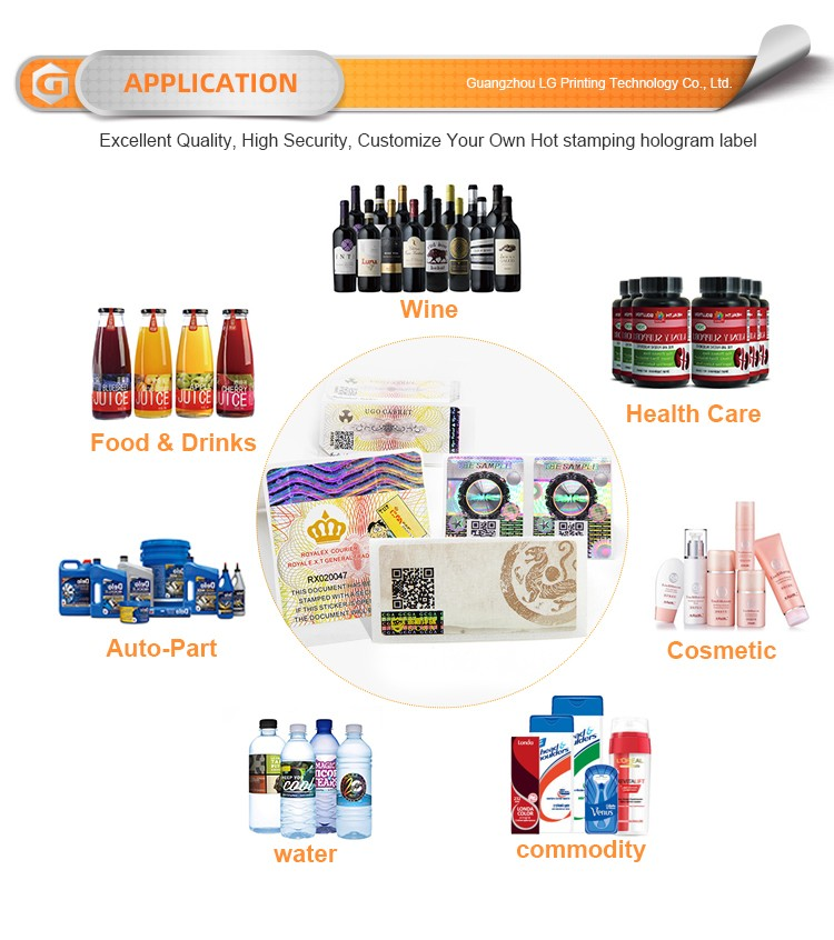 Custom custom product label printing Supply for products-4