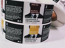 Autocollant d'étiquette de produit personnalisé imprimant des étiquettes de bière personnalisées