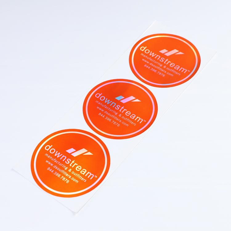 Laser Holographic Fast Custom Labels Sticker