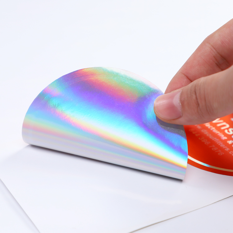 High-quality holographic letter stickers company-6