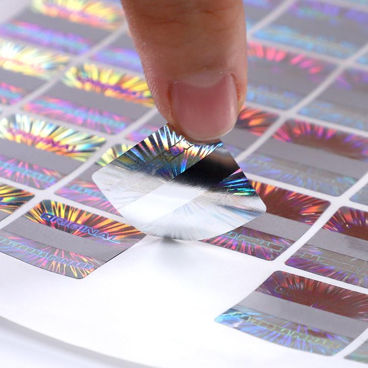 Scratch Off Original Hologram Printing Label Sticker