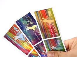 Laser Rainbow Holographic Sticker Label Logo Sticker Printing