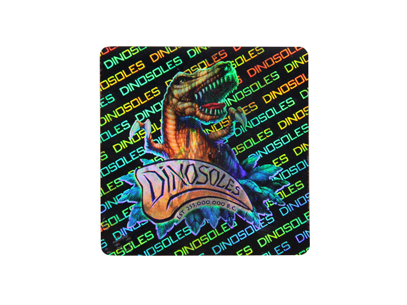 3D High Quality Holographic Label Hologram Void Sticker