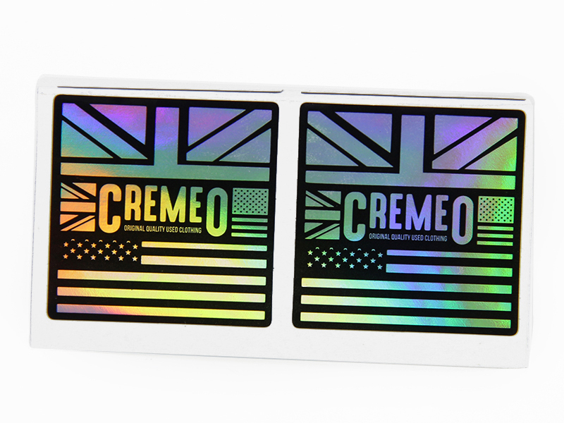 Self adhesive printing paper holographic label sticker
