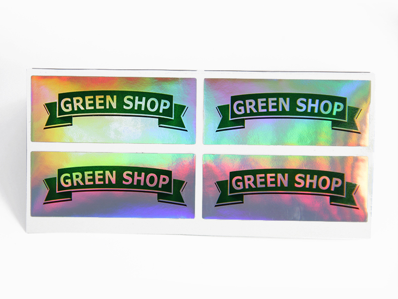 Buy custom holographic labels factory for bottle package-3