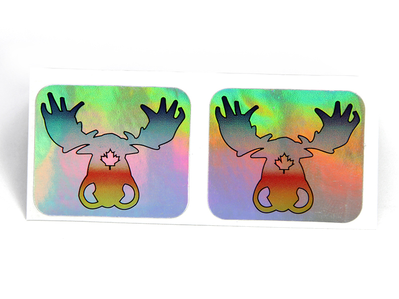 High-quality holographic letter stickers company-4