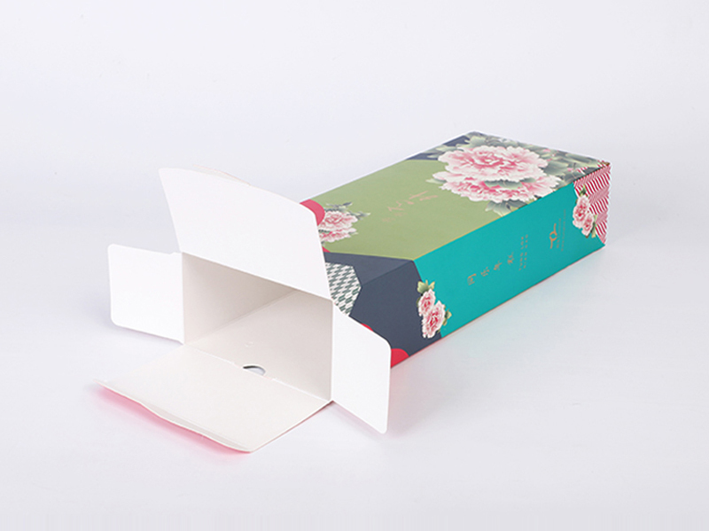 Colorful Printing Coated Paper Packaging Box For Custom Made By Labels