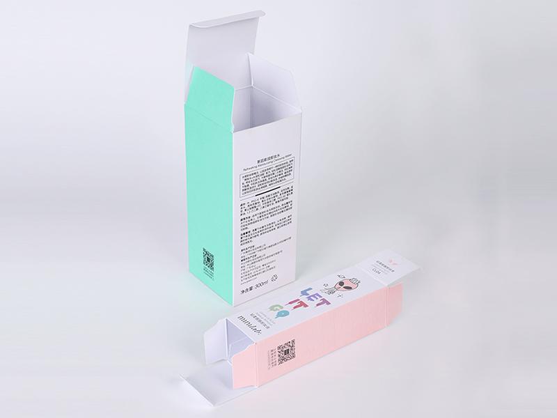 Custom Package Labels Cosmetic Makeup Folding Paper Packaging Box