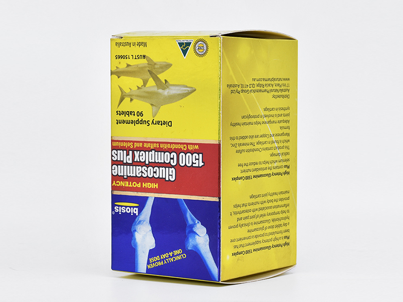 Custom Tags And Labels Printing Paper Box For Medicine Packaging