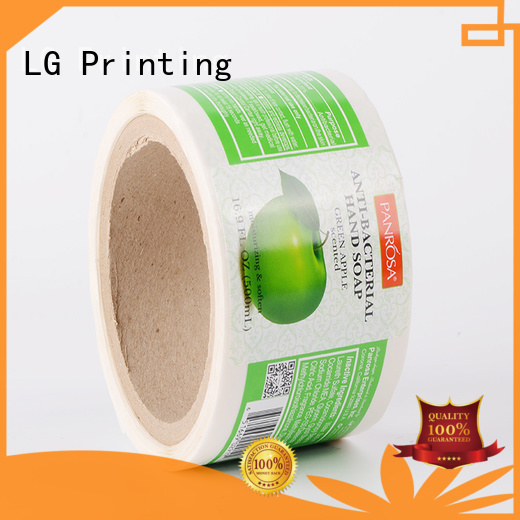 LG Printing pvc label applicator series for wine bottle