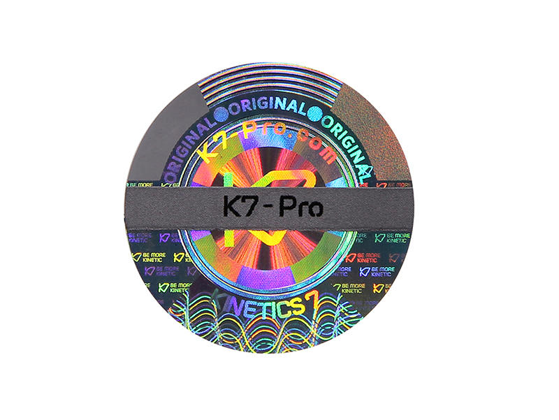 various laser hologram authentic label for refrigerator-1