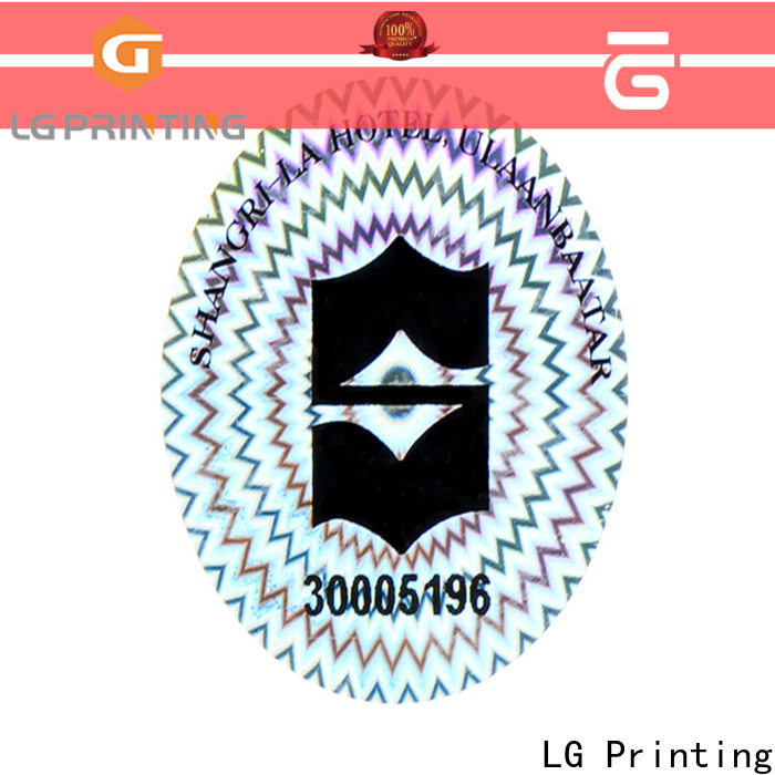 LG Printing scratch permanent stickers for metal series for door
