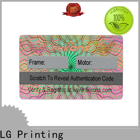 scratched metal asset labels barcode manufacturer for table
