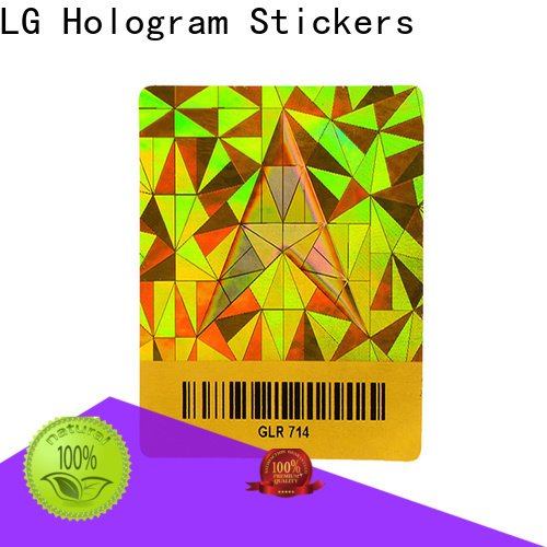 LG Printing void alarm system stickers series for refrigerator