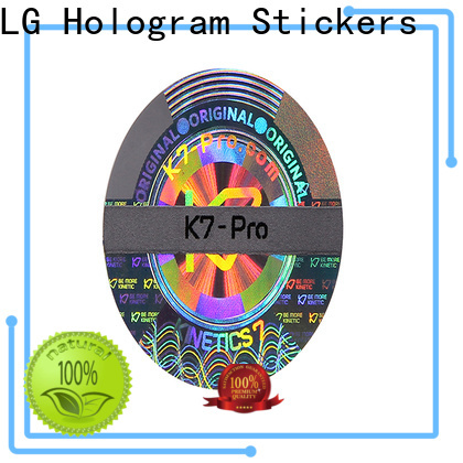LG Printing round custom mailing manufacturer for door