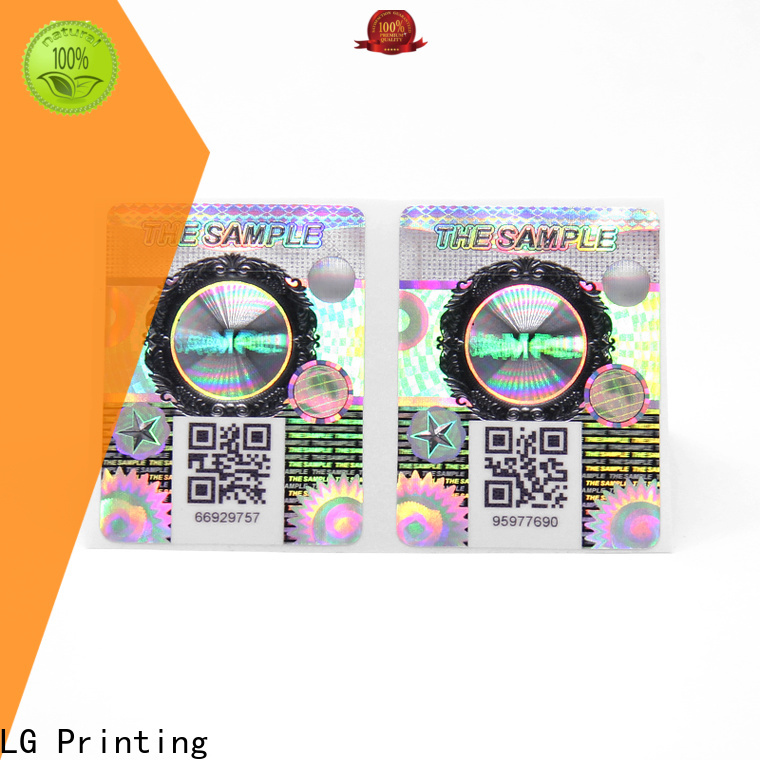 LG Printing Best brand protection labels manufacturers for bag