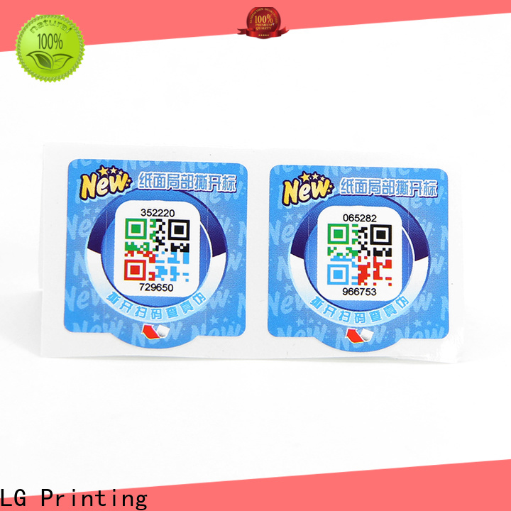 LG Printing Best holographic label printing Suppliers for goods