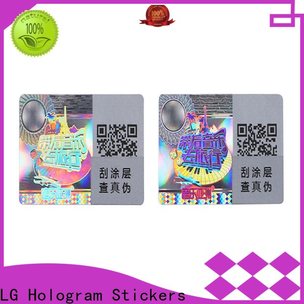 LG Printing scratched preprinted asset tag series for door